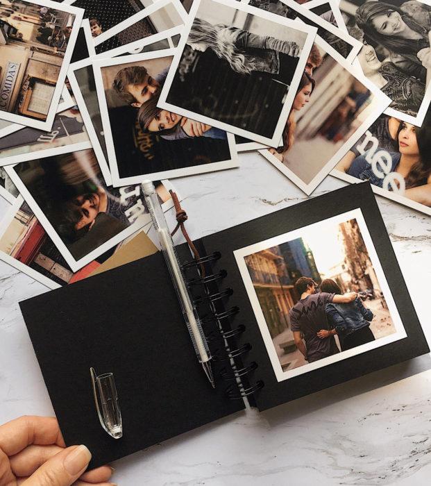 Regalos para darle a tu novio en San Valentín; álbum creativo de fotografías en pareja