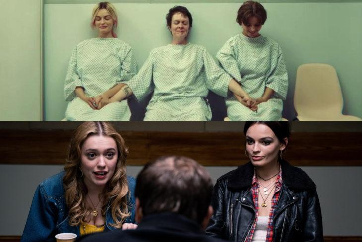Sex Education, serie de Netflix; Maeve en clínica, Aimee