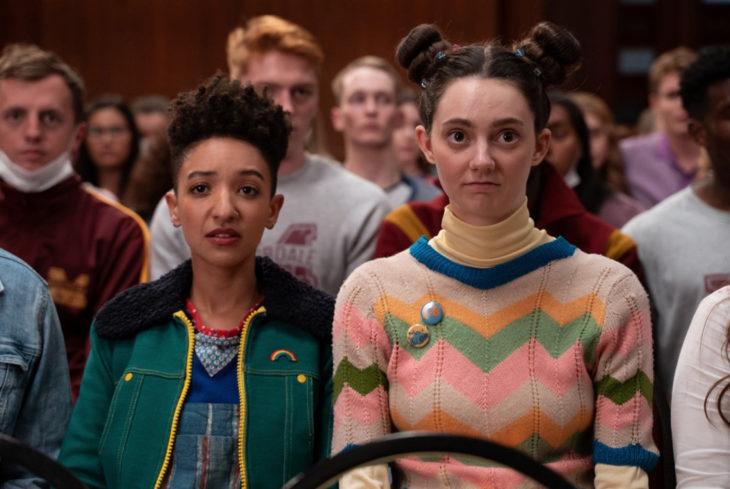 Sex Education, serie de Netflix; Ola y Lily
