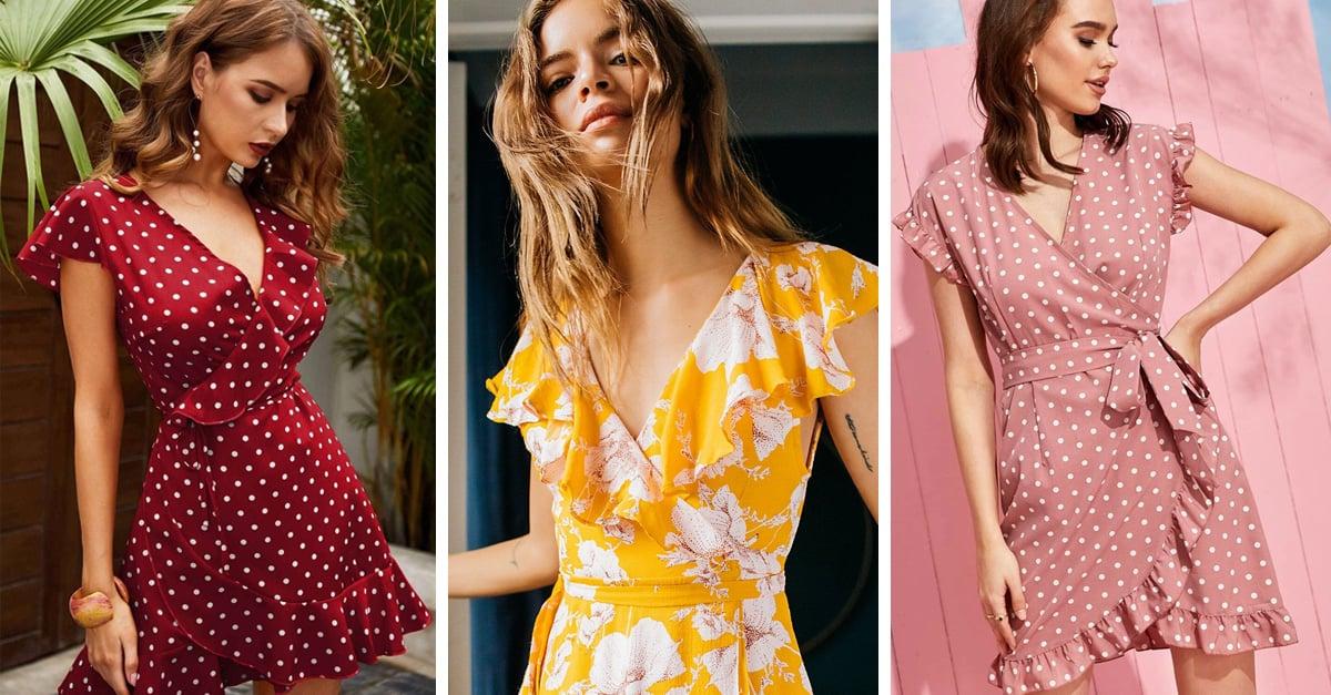 15 Pruebas de que el wrap dress es el próximo básico de primera