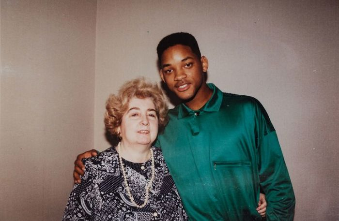 Maria Snoeys-Lagler y Will Smith