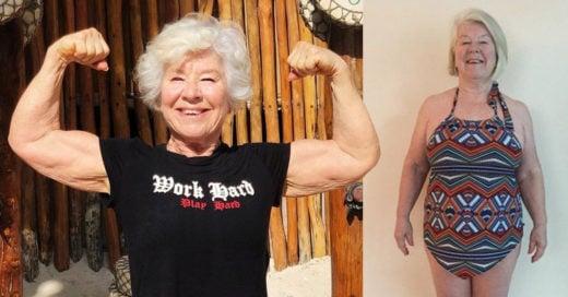 Mujer de 71 años se convierte en influencer fitness para superar sus problemas de salud
