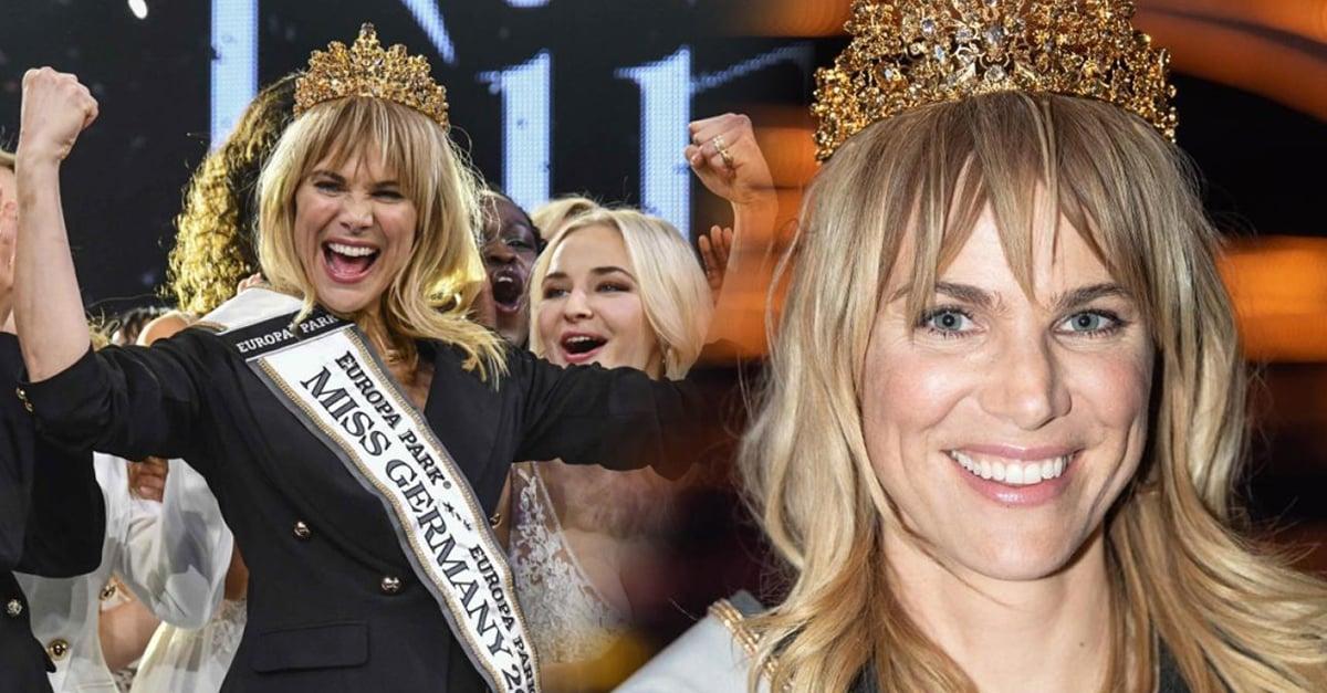 Por primera vez Alemania elige como Miss a una mamá de 35 años