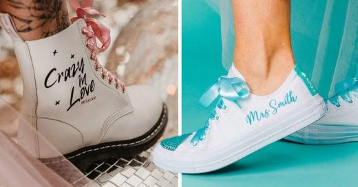 Converse lanza colección para bodas y esel sueño de toda novia