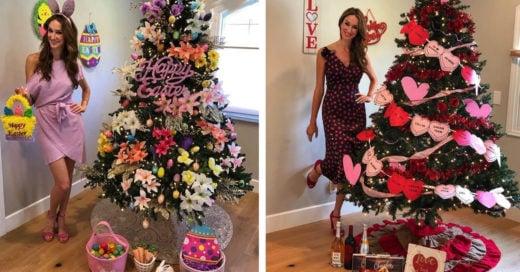 Decora su árbol navideño por festividad ¡y no tiene que quitarlo nunca!