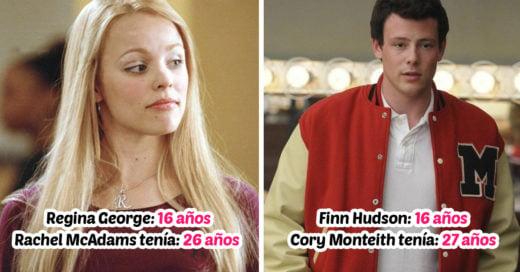15 Actores que eran adultos cuando interpretaron a adolescentes