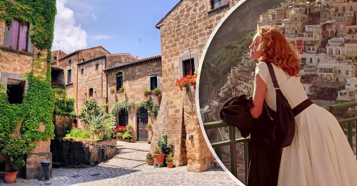 Vive en los pueblitos de Italia y recibe15 mil mensuales por ello