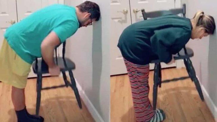 Challenge de la silla que no pueden superar los hombres