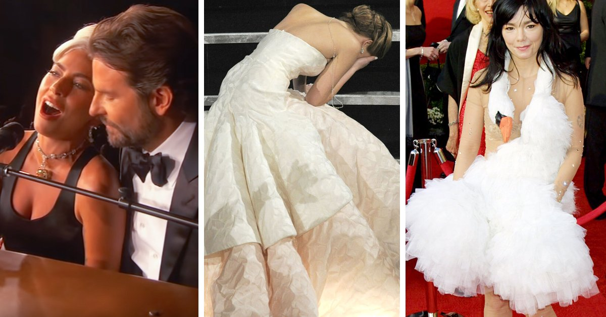 15 Momentos extraños que hemos visto en la entrega de premios Óscar