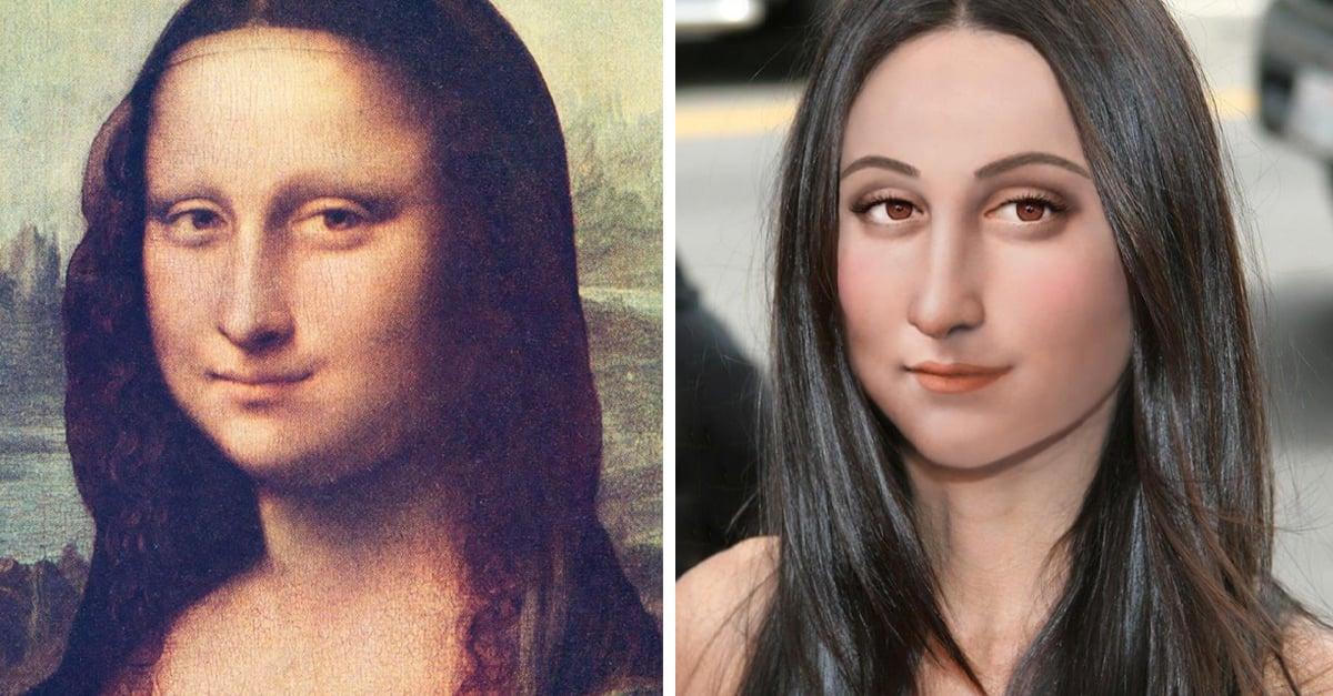Artista muestra cómo se verían 22personajes históricos si vivieran en la actualidad