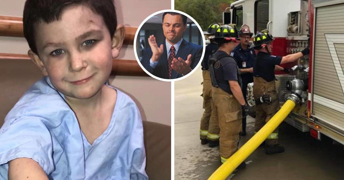 Pequeño salvóa su hermanita y mascota de un incendio