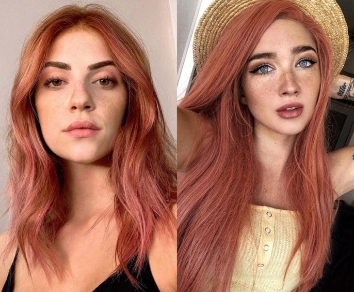Tonos de rosa para pintarte el cabello; palisandro