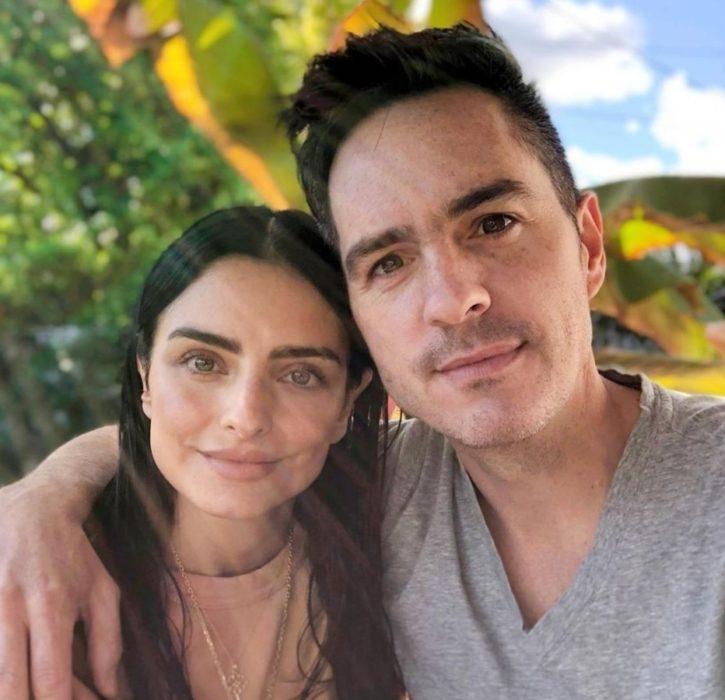 Aislinn Derbez y Mauricio Ochmann confirman su separación con fotografía