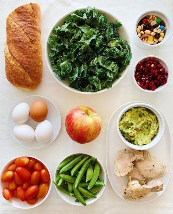 Ingredientes para meal prep