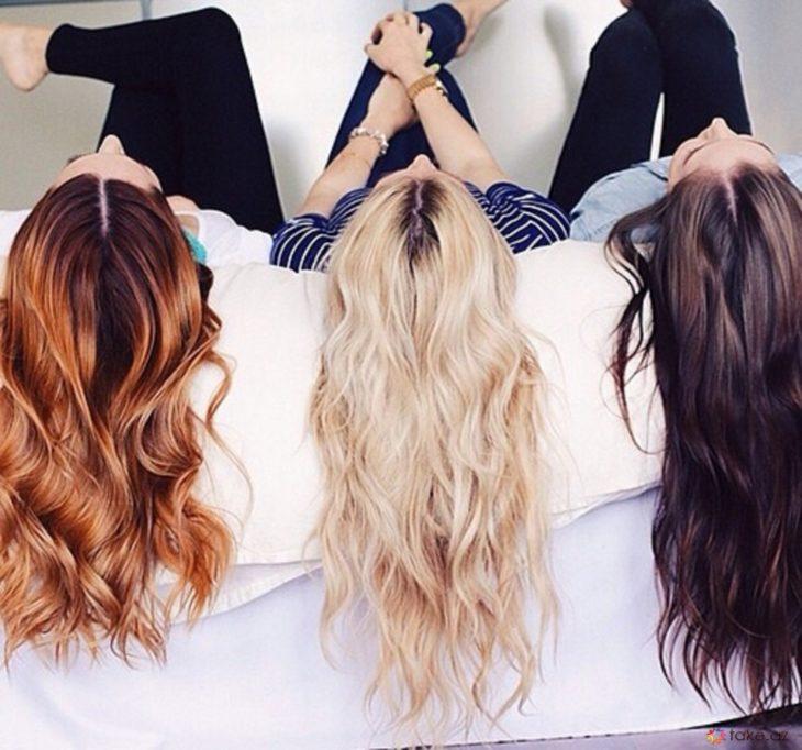 Diferentes tipos de cabellos