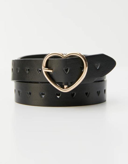 Cinturon de mujer color negro