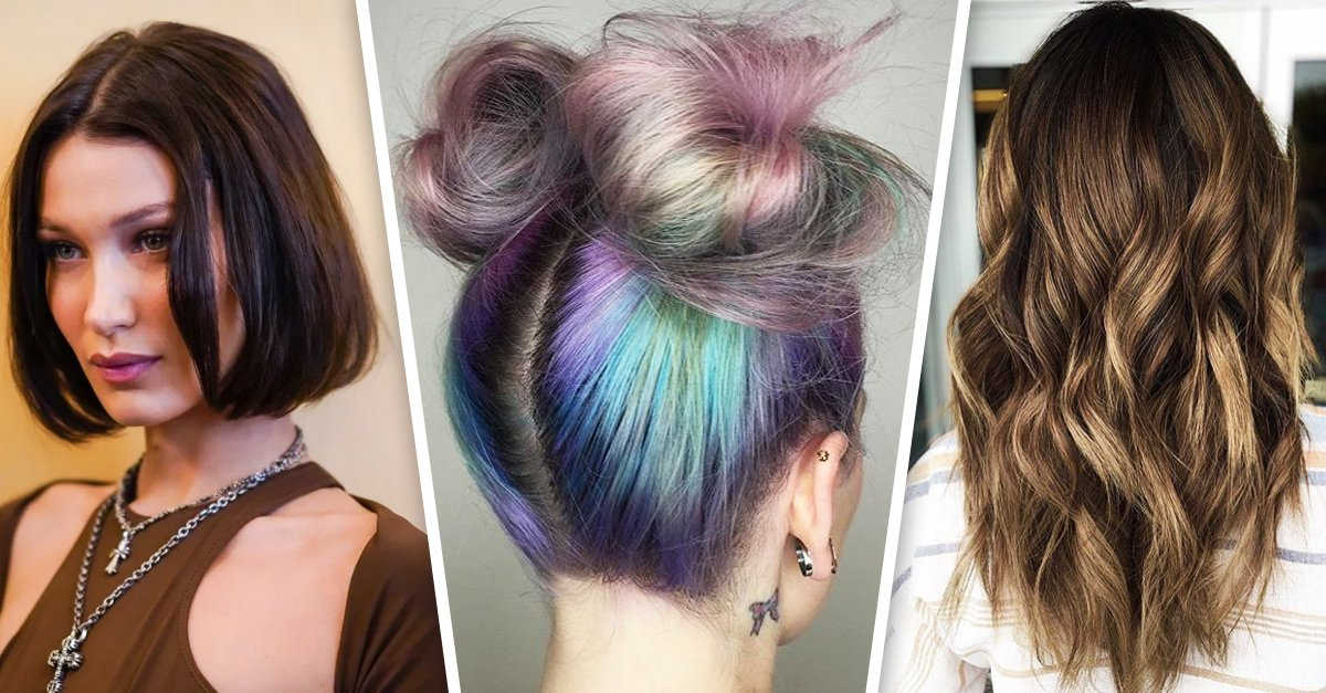 Con estos colores podrás cambiar el tono de tu cabello este 2020