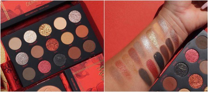 Paleta de sombras de ColourPop de la colección Mulán
