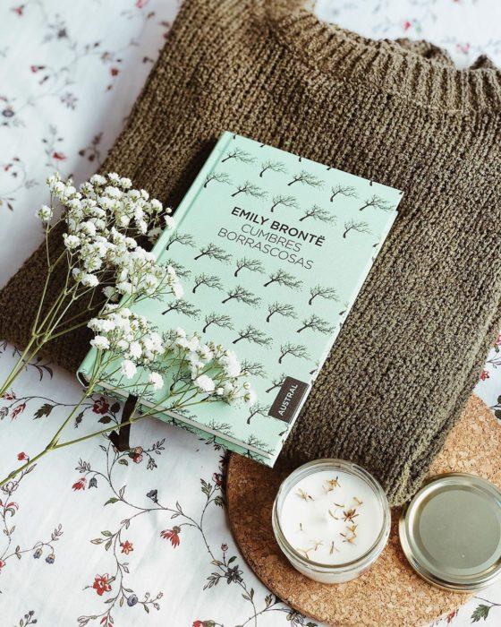 Libro Cumbres borrascosas de Emily Brontë