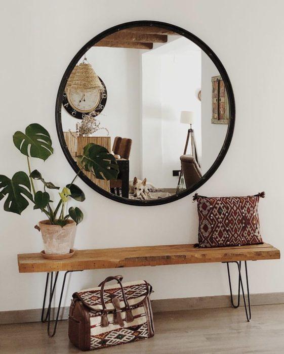Espejos en casa según fen shui
