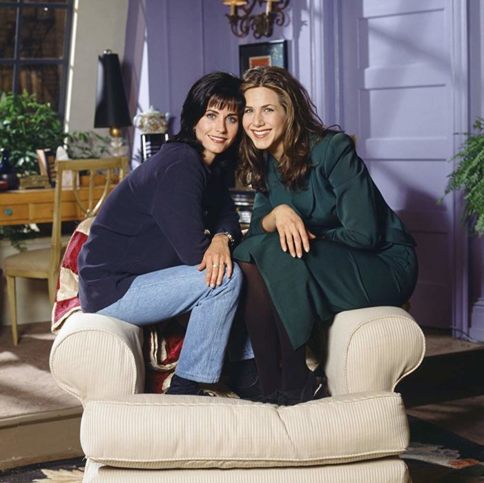 Monica y Rachel de Friends