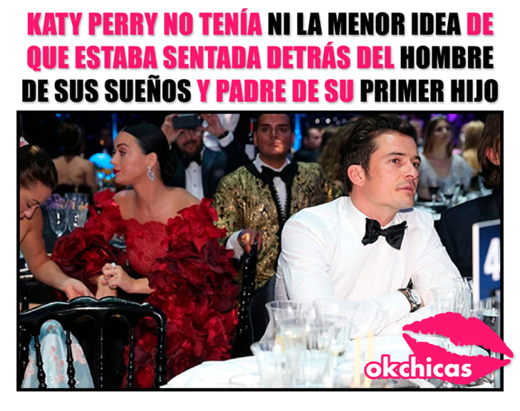 Meme de Katy Perry y Orlando Bloom