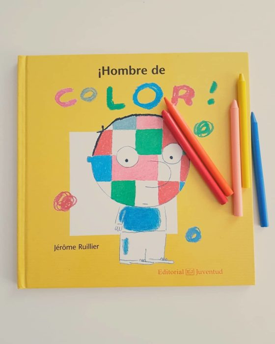 Libro body positive infantil Hombre de color