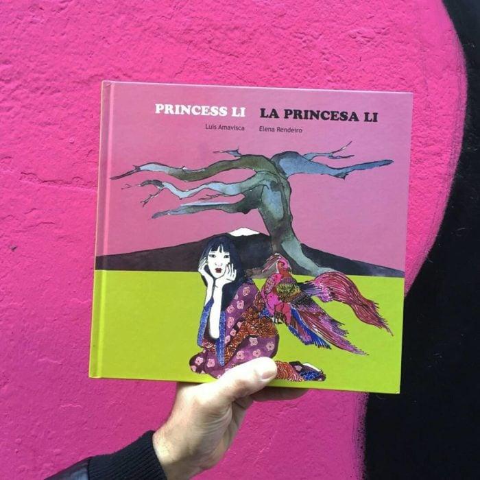 Libro body positive infantil La princesa Li