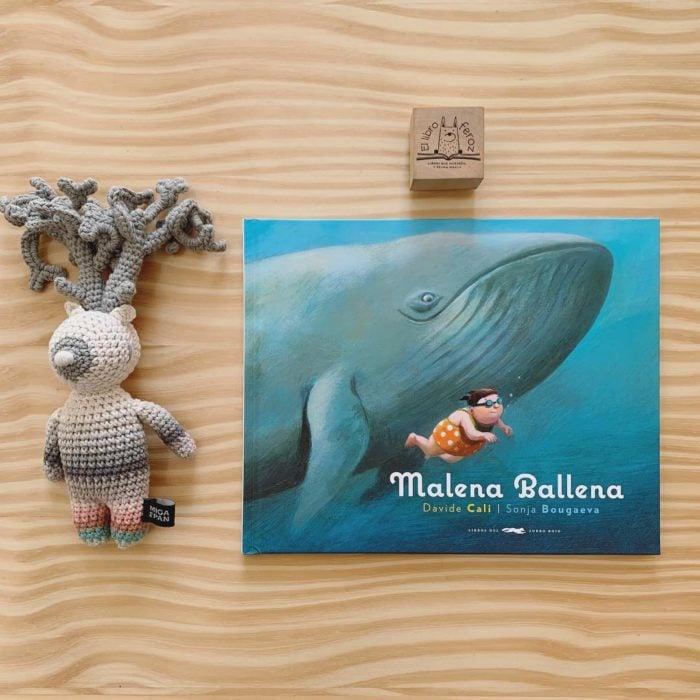 Libro body positive infantil Malena ballena