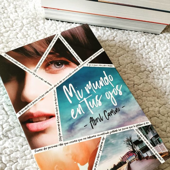 LibroMi mundo en tus ojos de Abril Camino