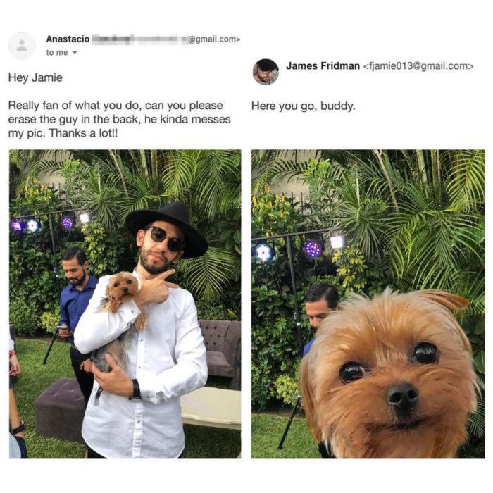 Modificaciones a imágenes que un experto en photoshop hizo a usuarios de redes sociales
