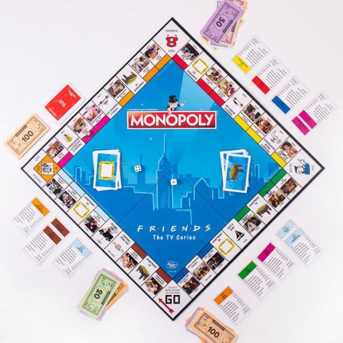 Tablero de monopoly edición friends
