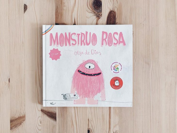 Libro body positive infantil Monstruo rosa