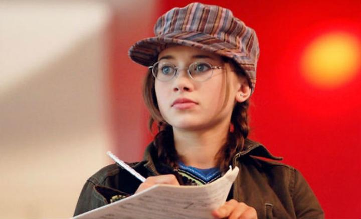 Kelsi Película:High School Musical, tomando notas