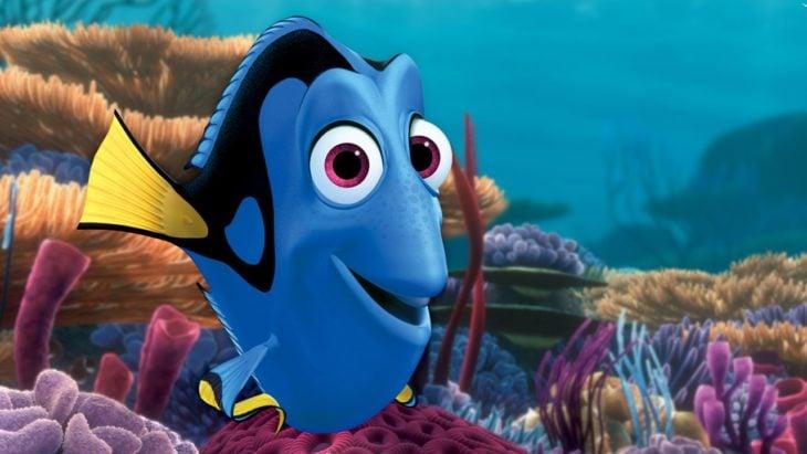 Dory , Película:Buscando a Nemo, nadando en el océano