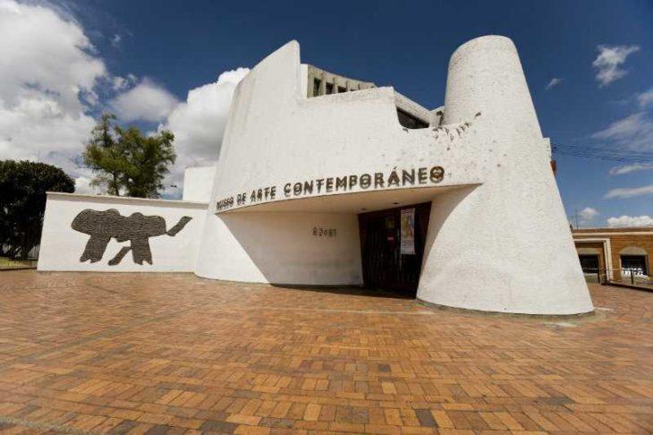 Fachada del Museo de Arte Contemporáneo de Bogotá