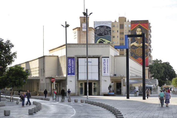 Fachada del Centro de Arte Contemporáneo de Málaga