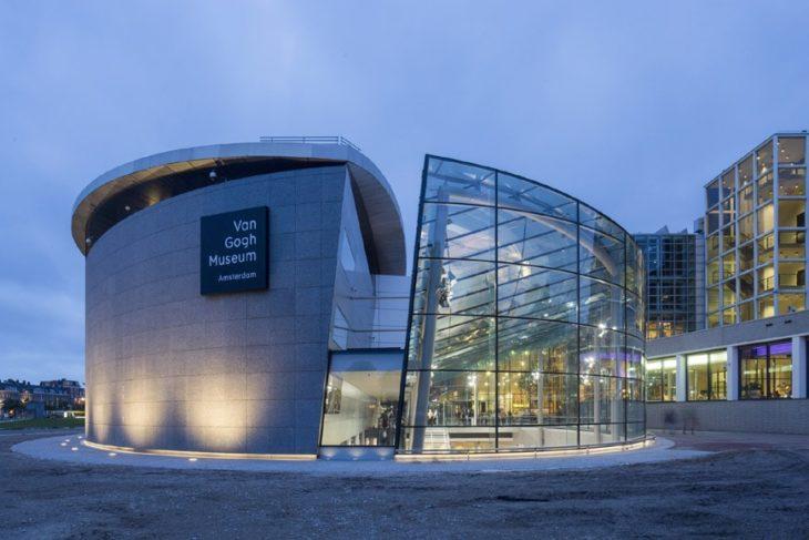 Fachada de Van Gogh Museum