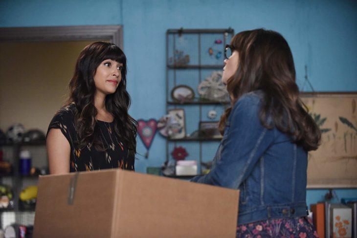 Escena de la serie de televisión New Girl