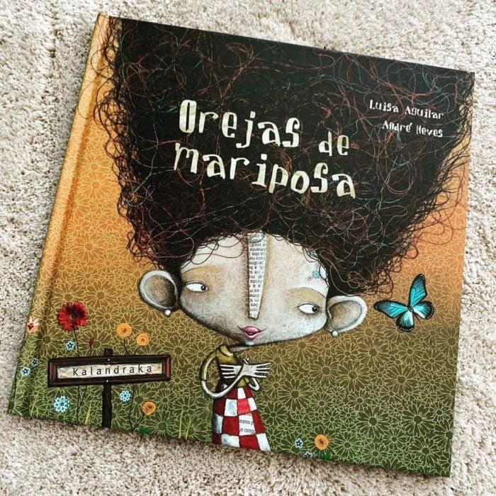 Libro body positive infantil Orejas de mariposa