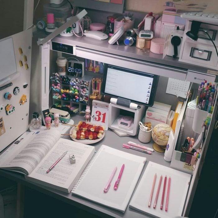 Organización de actividades cuando se realiza home office
