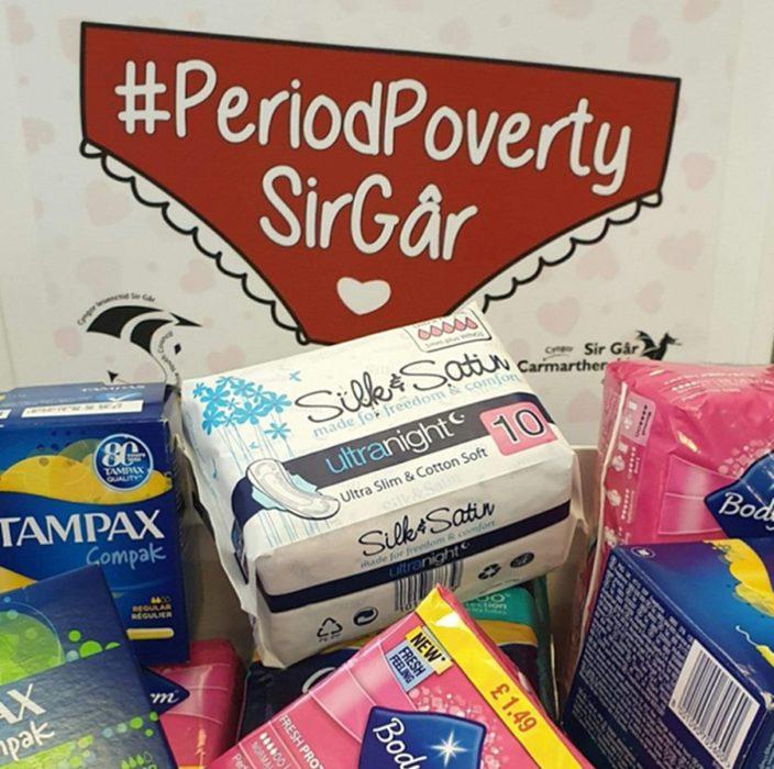 Productos de higiene menstrual para combatir la pobreza menstrual
