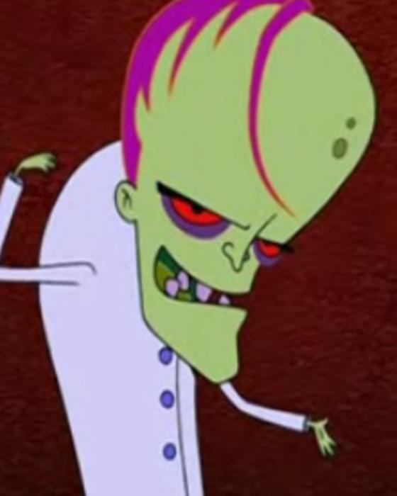 Doctor Zalost, personaje de Cobarde, el perro cobarde