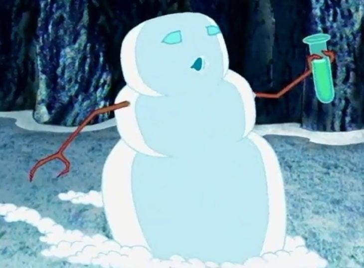 Hombre de nieve, personaje de Coraje el perro cobarde