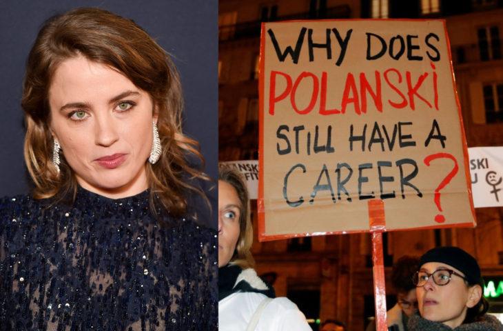 Actrices como Adèle Haenel abandonan premios César por premiar a Roman Polanski