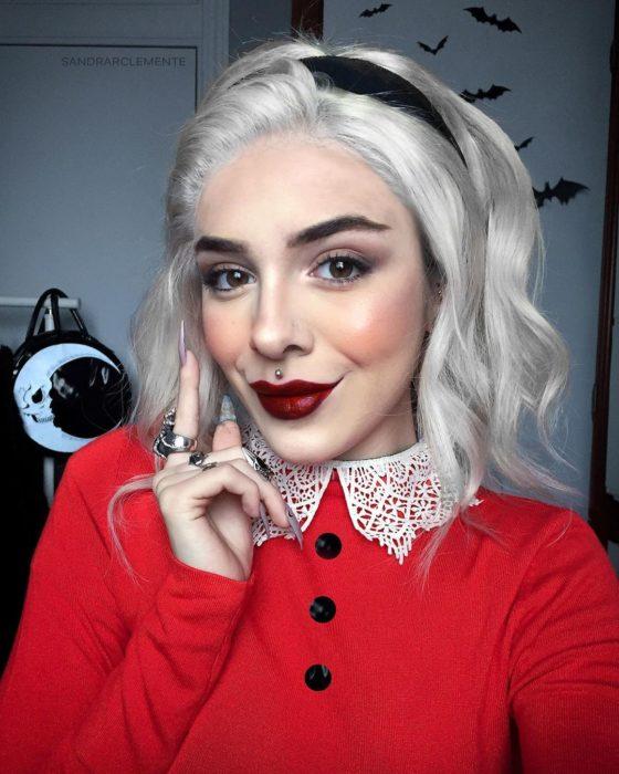 Recreación de maquillaje de Sabrina
