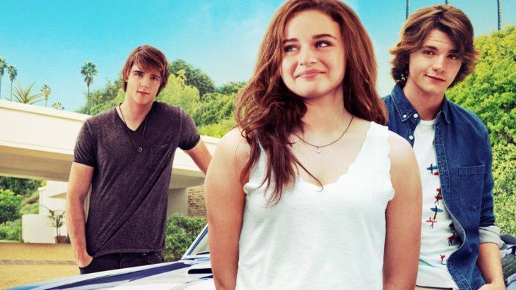 Poster promocional de la película el stand de los besos