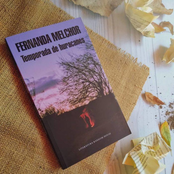 Libro Temporada de Huracanes de Fernanda Melchor