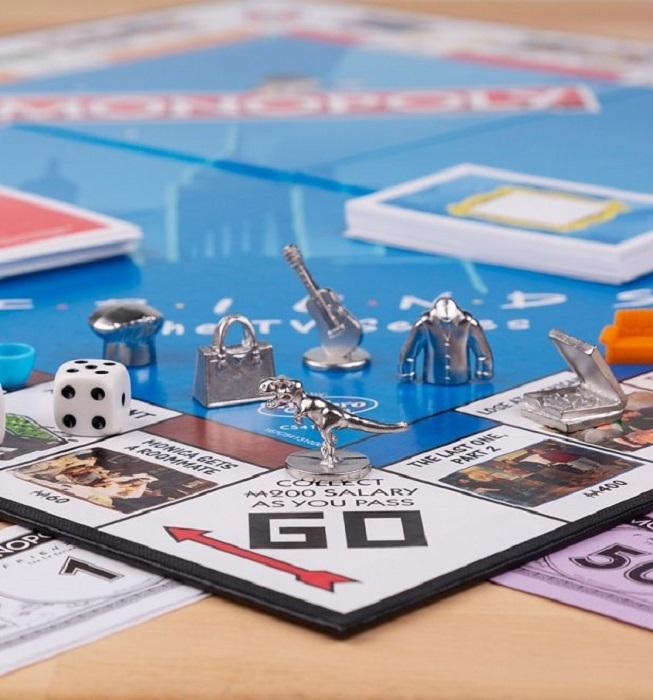 Tokens del monopoly edición friends