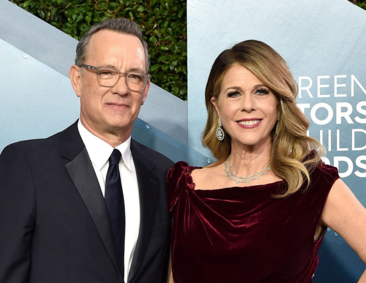 Tom Hanks y Rita Wilson dan positivo a coronavirus; actores en alfombra roja